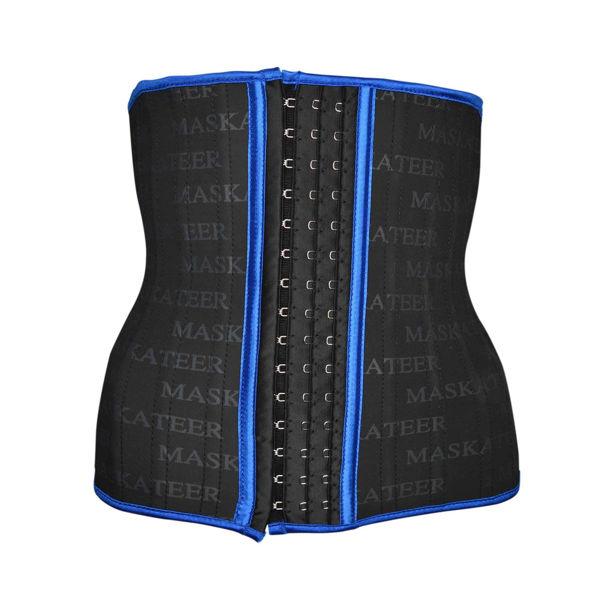 Blue waist cincher (front)