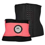 Womens Waist Trainer Gym Belt and Waist Trainer - Waist cincher, corset top, body shaper, shapewear, slimming belt, exercise belt, gym belt, running belt, weight lifting belt for women
