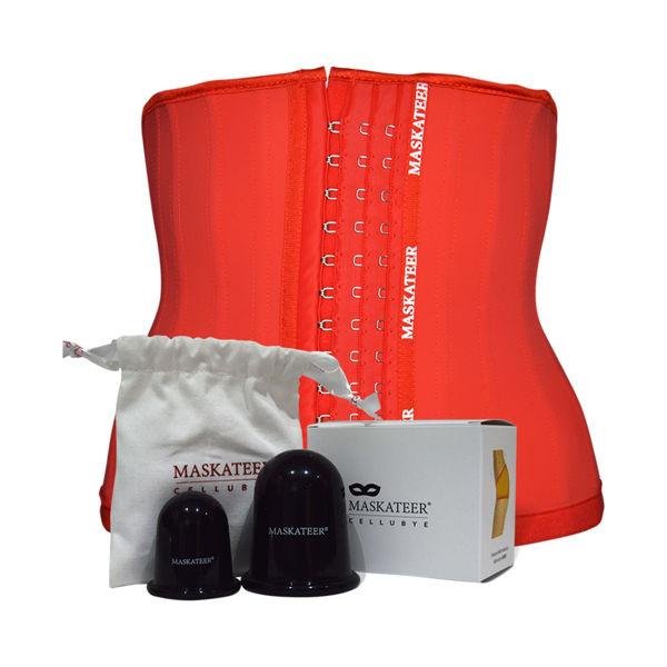 Womens Gym Belt and Waist Trainer - Waist cincher, corset top, body shaper, slimming belt, exercise belt