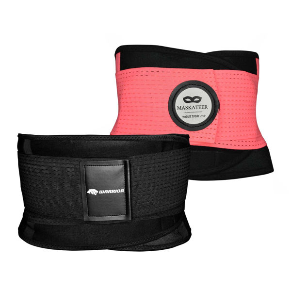 His and Her gym belts