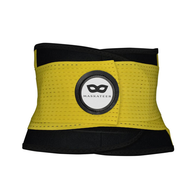 Picture of Active Me Yellow Gym Belt