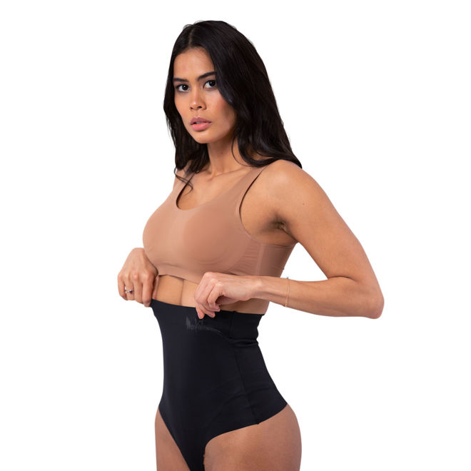 MASKATEER Womens Monochrome Waist Trainer Bundle Pack for slim waist, weight loss, back support, posture corrector and back pain